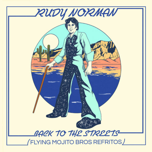 """Rudy Norman Back To The Streets (remixes) Ubiquity 12"""", Reissue Vinyl"""