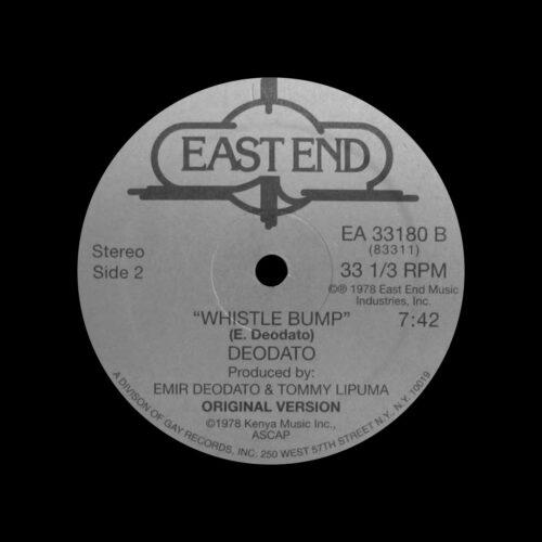 "Deodato Whistle Bump East End Music 12"", Reissue Vinyl"