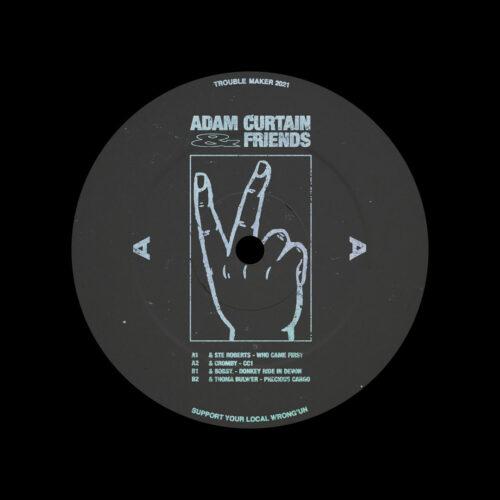 "Adam Curtain And Friends Trouble Maker 12"" Vinyl"