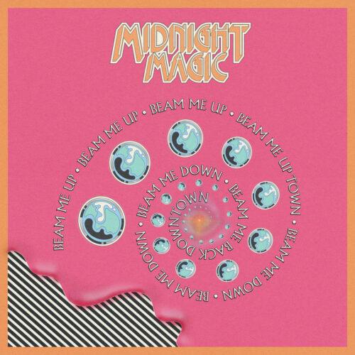"""Midnight Magic Beam Me Up (Remixed) Razor-N-Tape 12"""" Vinyl"""