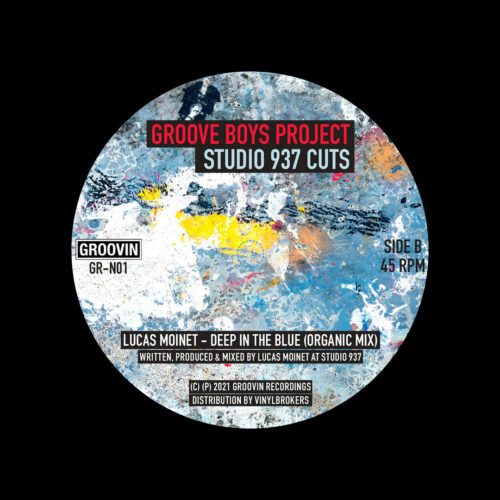 "Groove Boys Project Studio 937 Cuts Groovin Recordings 12"", Reissue Vinyl"
