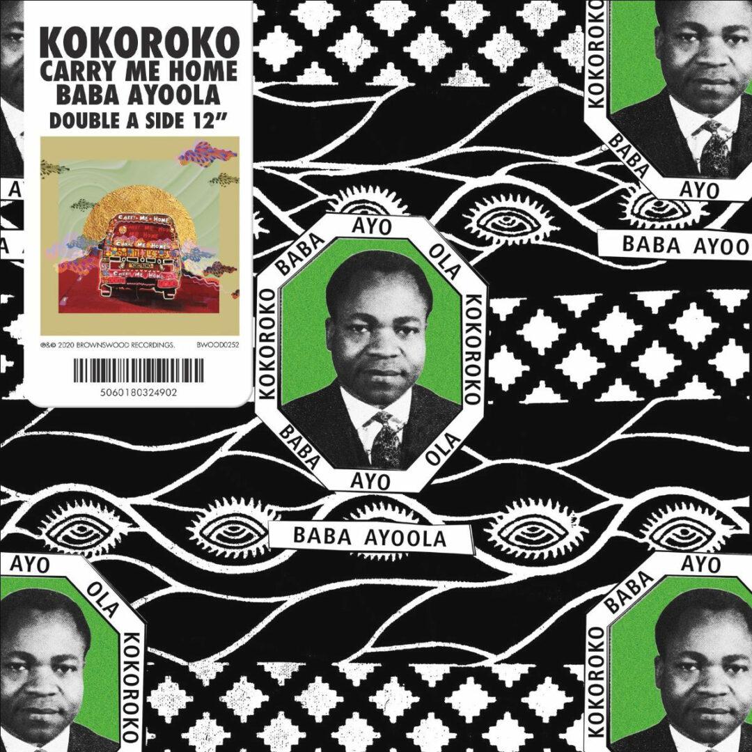 "Kokoroko Baba Ayoola / Carry Me Home Brownswood Recordings 12"" Vinyl"