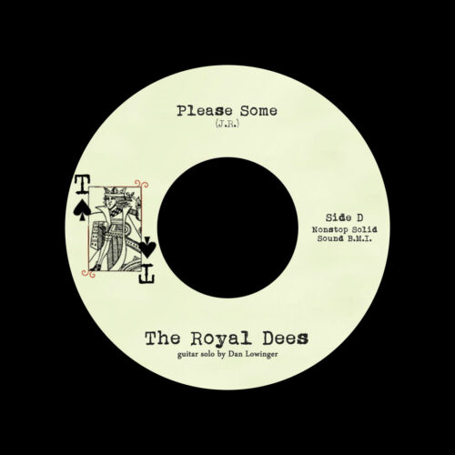 """The Royal Dees Please Some Tramp Records 7"""" Vinyl"""