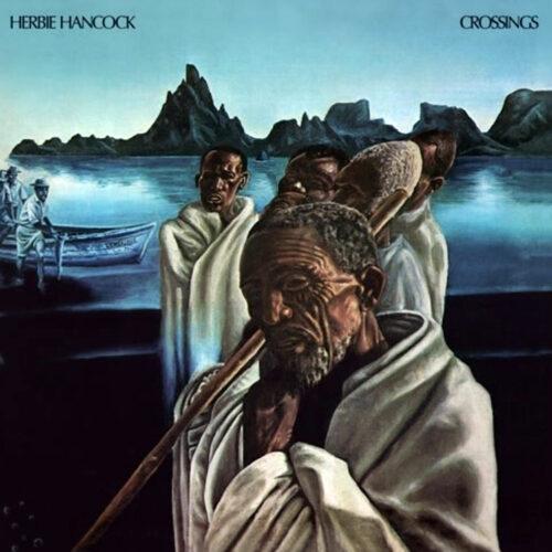 Herbie Hancock Crossings Antarctica Starts Here LP, Reissue Vinyl