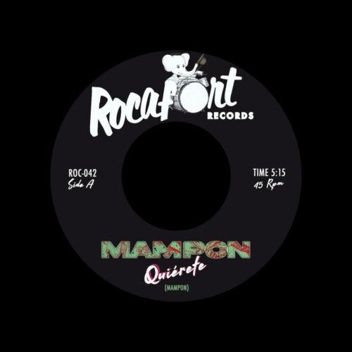 """Mampon Afrobeat Quiérete Rocafort Records 7"""" Vinyl"""