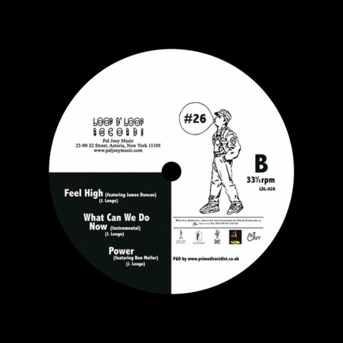"""Pal Joey LDL #26 Loop D Loop 12"""", Reissue Vinyl"""