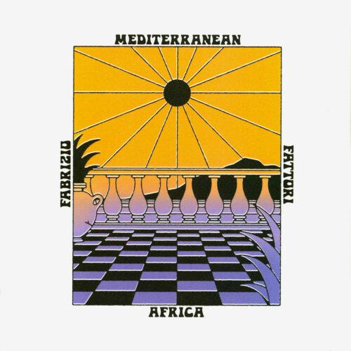 Fabrizio Fattori Mediterranean Africa Best Record LP, Reissue Vinyl