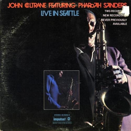 John Coltrane, Pharoah Sanders Live In Seattle ABC Records, Impulse! 2xLP Vinyl