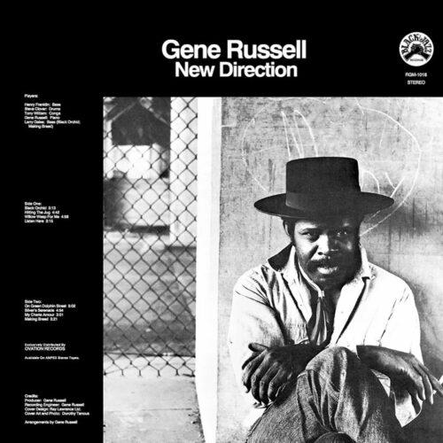 Gene Russell New Direction Real Gone Music LP, Reissue Vinyl