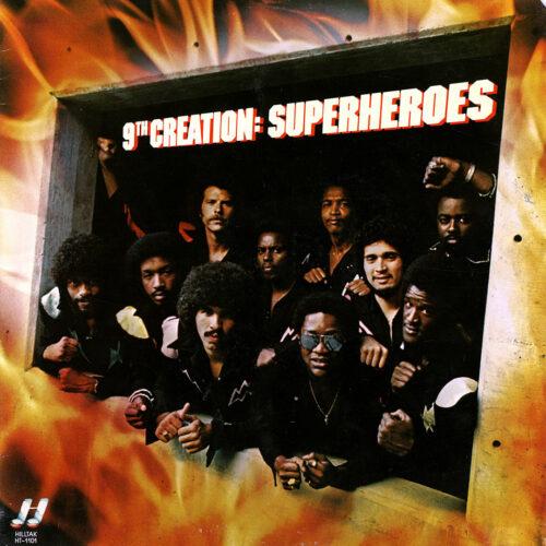 9th Creation Superheroes Hilltak Records LP Vinyl