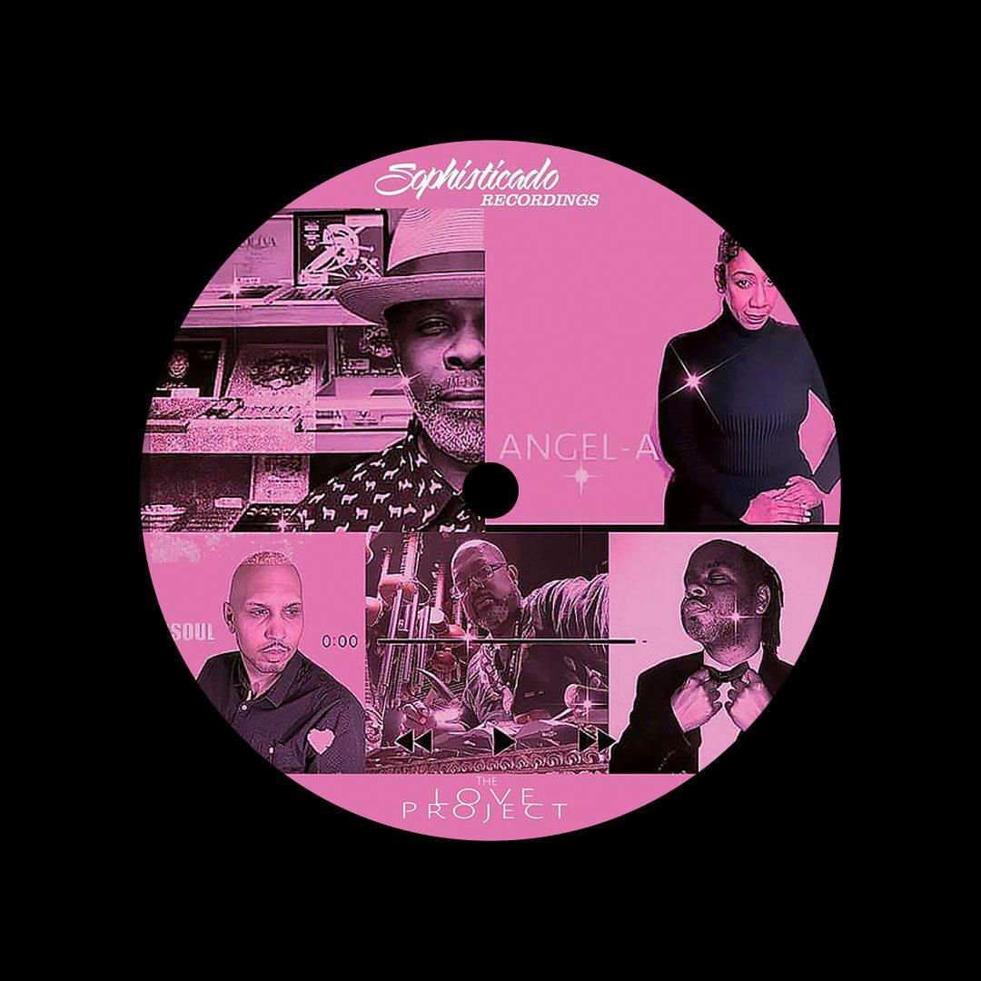 "Vick Lavender The Love Project Sophisticado Recordings 12"" Vinyl"
