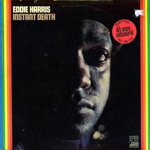Eddie Harris Instant Death Atlantic LP, Promo Vinyl