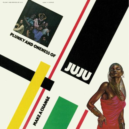 Oneness Of Juju, Plunky Make A Change Strut 2xLP, Reissue Vinyl