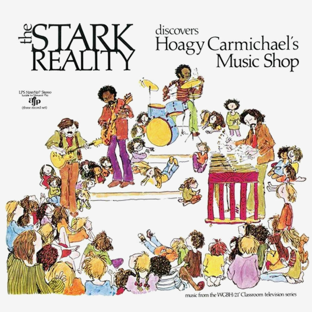 The Stark Reality Discovers Hoagy Carmichael's Music Shop Now-Again 3xLP, Reissue Vinyl