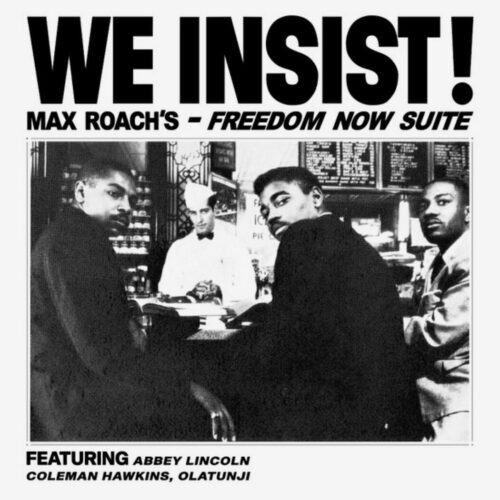 Max Roach We Insist! Sowing Records Clear, LP, Reissue Vinyl