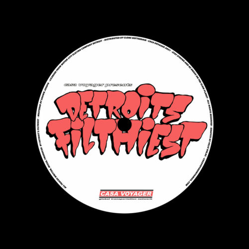 """Detroit's Filthiest Imitated Never Duplicated Casa Voyager 12"""" Vinyl"""