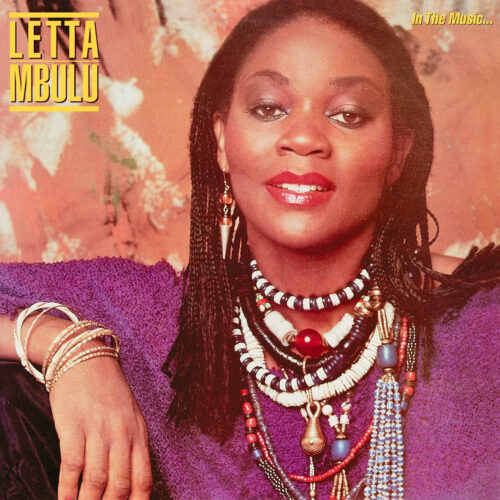 Letta Mbulu In The Music The Village Never Ends Be With Records LP, Reissue Vinyl