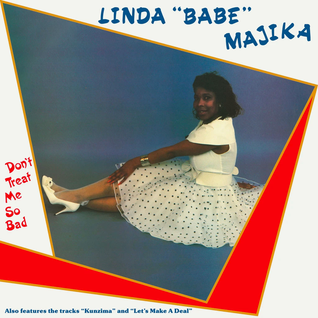 Linda Babe Majika Don't Treat Me So Bad Be With Records LP, Reissue Vinyl