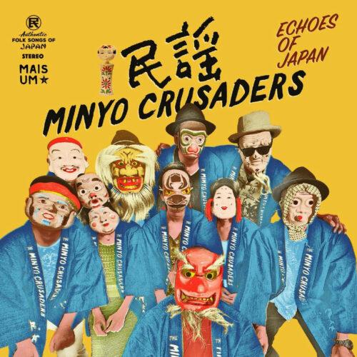 Minyo Crusaders Echoes Of Japan Mais Um Discos 2xLP, Blue, Reissue Vinyl