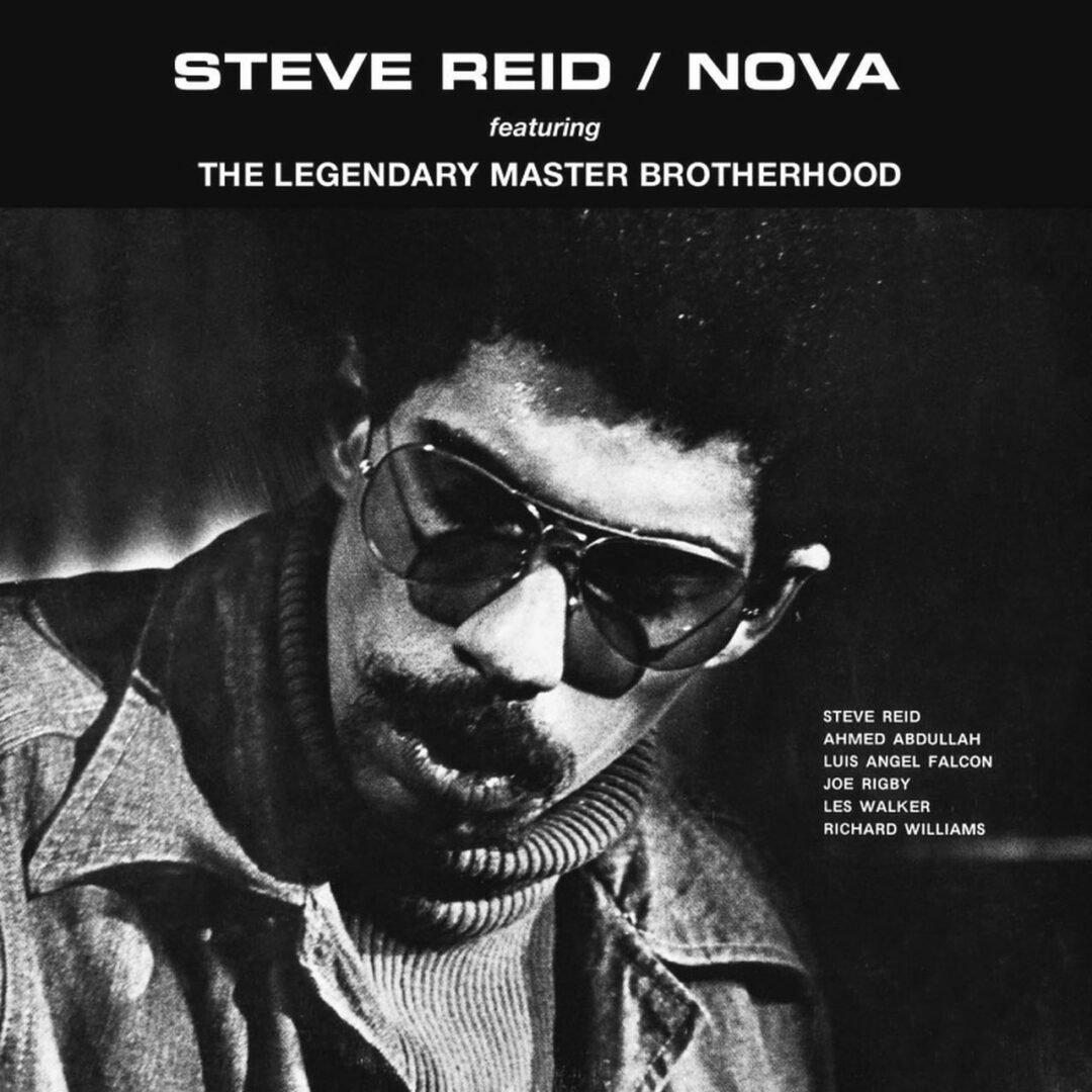 Steve Reid Nova Soul Jazz Records LP, Red, Reissue Vinyl