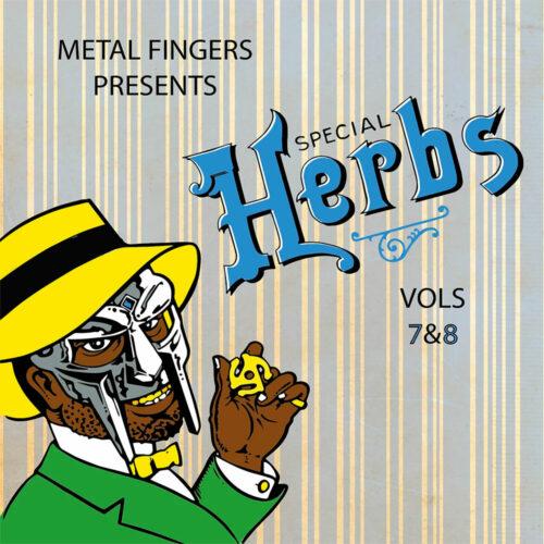 MF Doom Special Herbs, Vol. 7 & 8 Nature Sounds 2xLP, Repress Vinyl