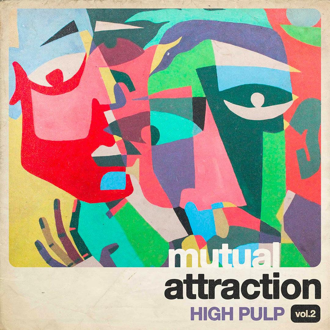 """High Pulp Mutual Attraction, Vol. 2 KingUnderground 12"""" Vinyl"""