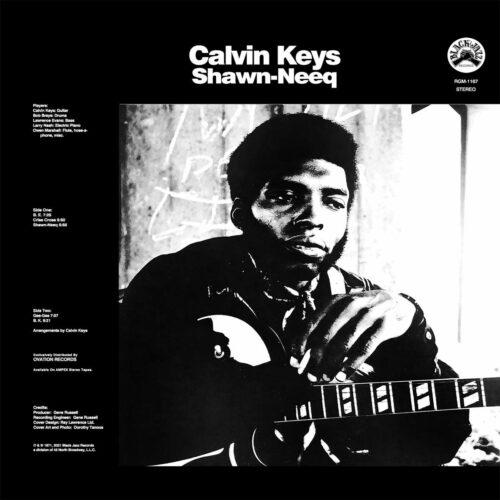 Calvin Keys Shawn-Neeq Real Gone Music LP, Reissue Vinyl