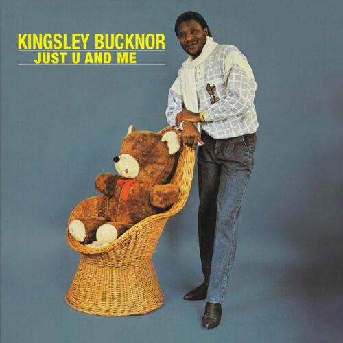 Kingsley Bucknor Just U And Me Left Ear Records LP, Reissue Vinyl