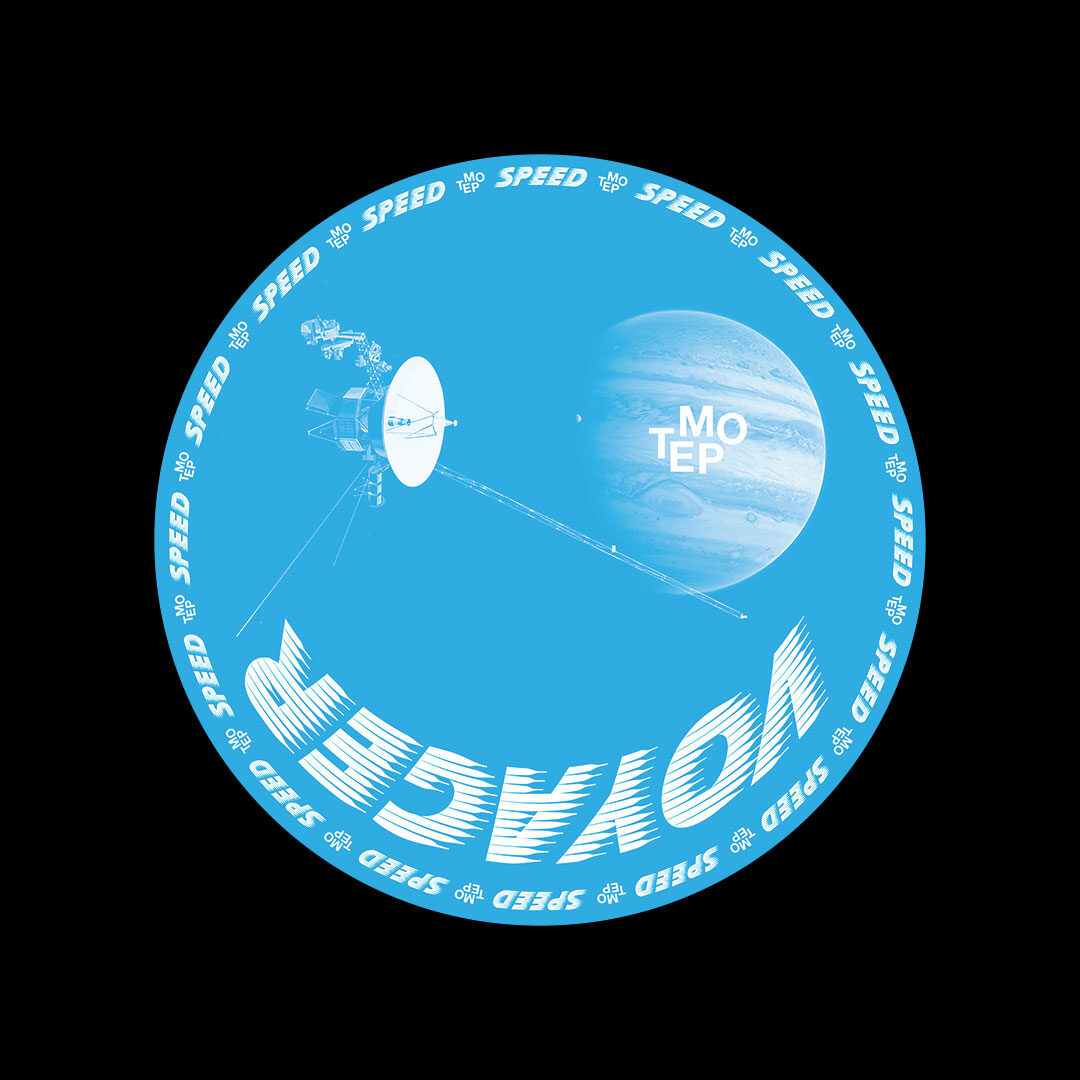 """Voyager Shields Down Tempo Records 12"""" Vinyl"""