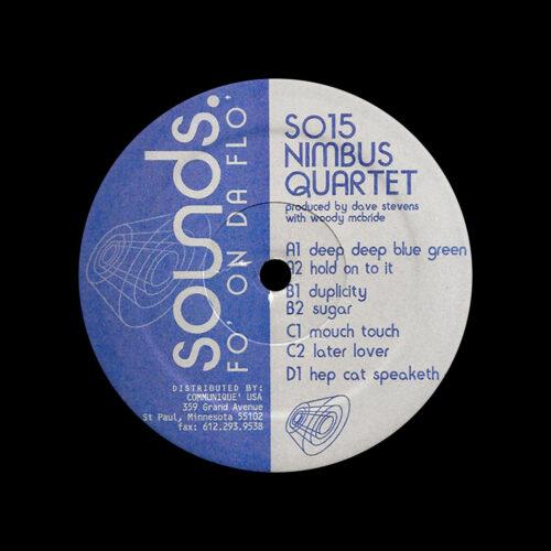 Nimbus Quartet Fo On Da Flo Sounds 2x12, Reissue Vinyl