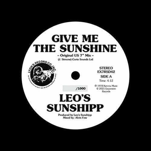 "Leo's Sunshipp Give Me The Sunshine Expansion 7"", Reissue, RSD2021 Vinyl"