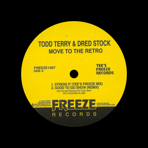 "Dread Stock, Todd Terry Move To The Retro Freeze Records 12"" Vinyl"