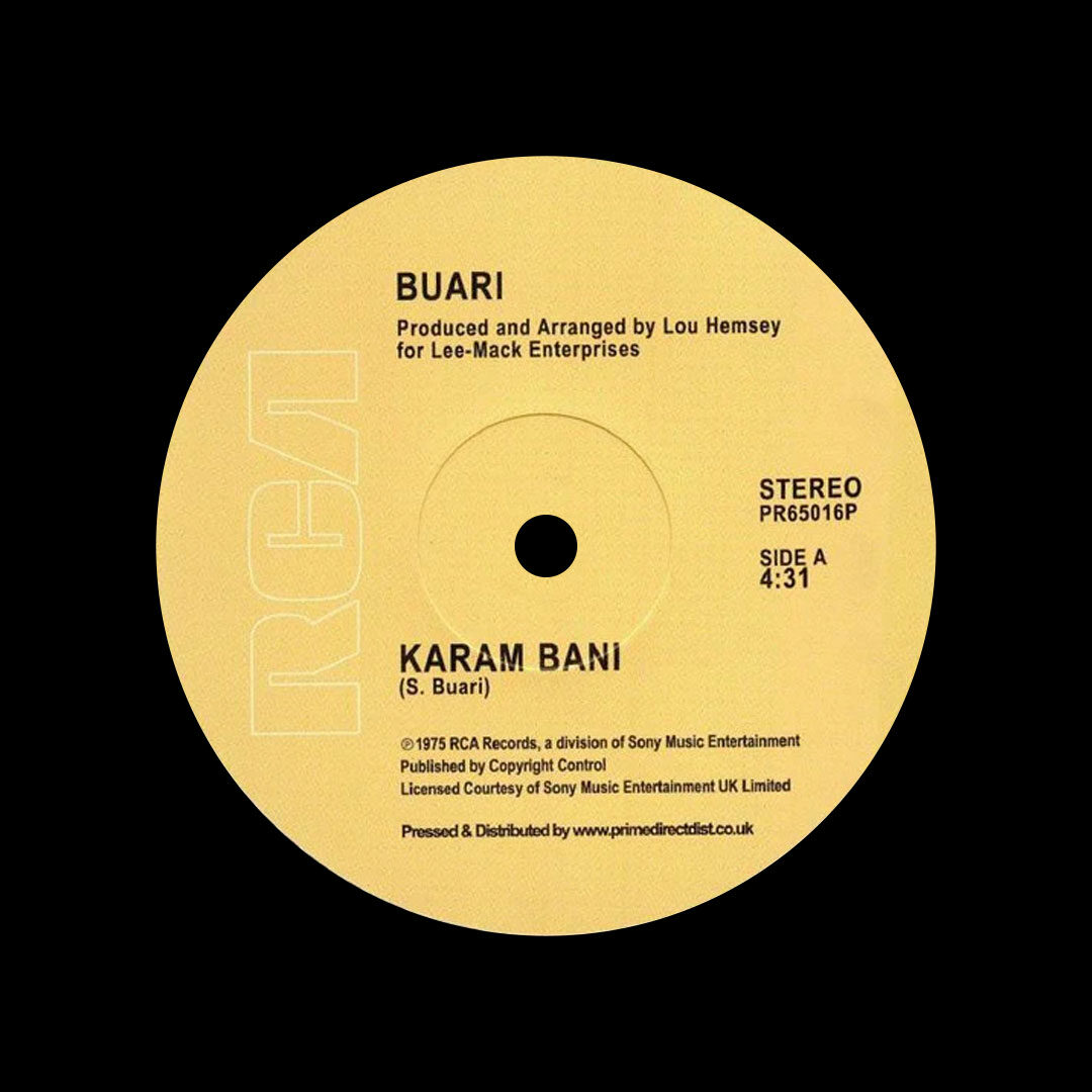 "Buari Karam Bani / Ye Koaba RCA Victor 12"", Reissue Vinyl"