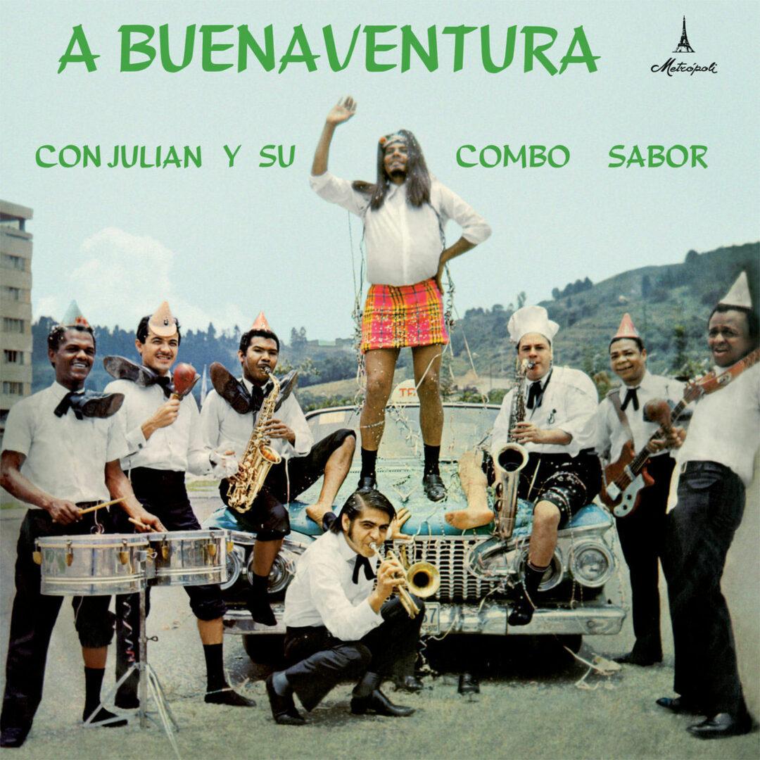 Julian Y Su Combo Sabor A Buenaventura Vampisoul LP, Reissue Vinyl
