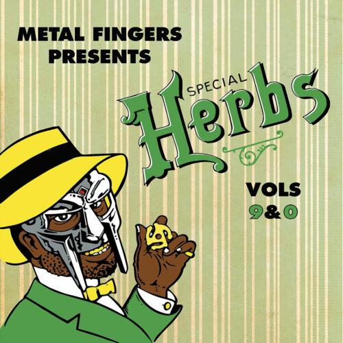 MF Doom Special Herbs, Vol. 9 & 0 Nature Sounds 2xLP, Repress Vinyl