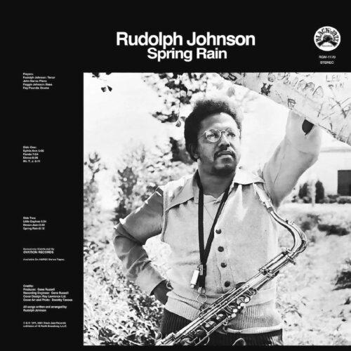 Rudolph Johnson Spring Rain Real Gone Music LP, Reissue Vinyl