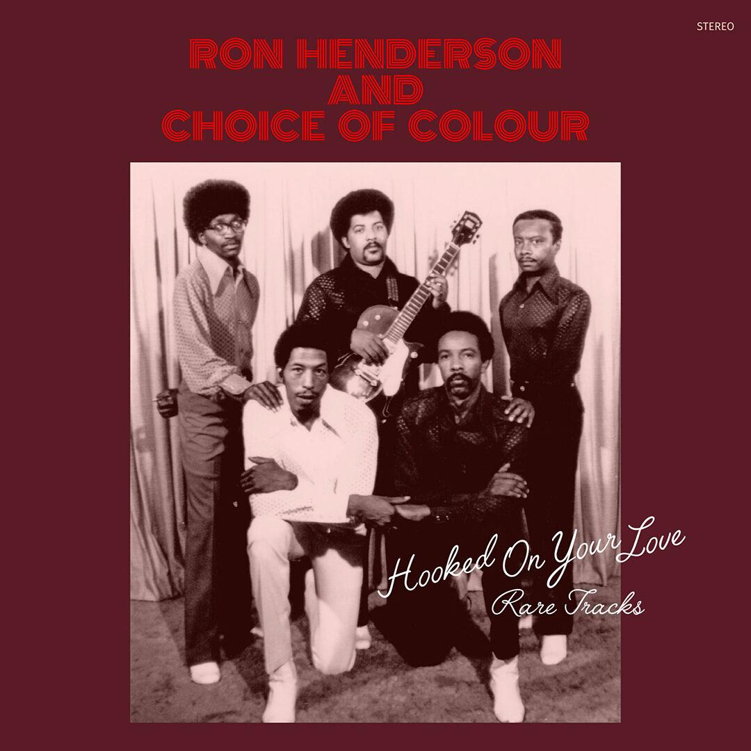 Ron Henderson Hooked On Your Love Rare Tracks P-Vine Records LP, Reissue Vinyl
