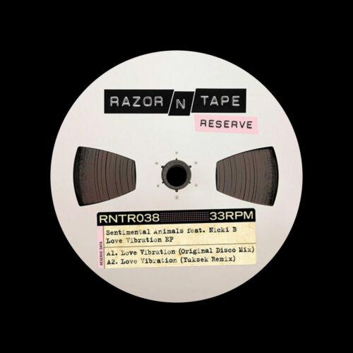 "Sentimental Animals Love Vibration EP Razor-N-Tape 12"" Vinyl"