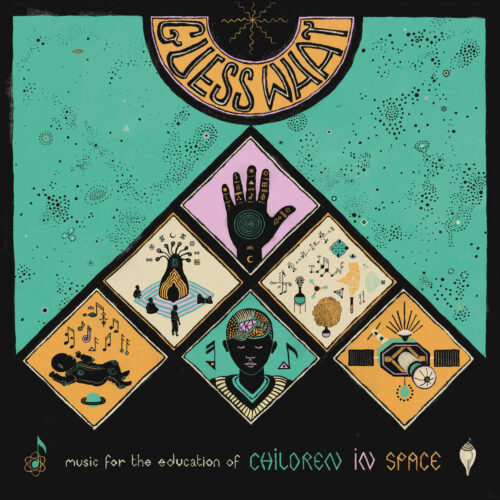 Guess What Children In Space Catapulte Records LP Vinyl