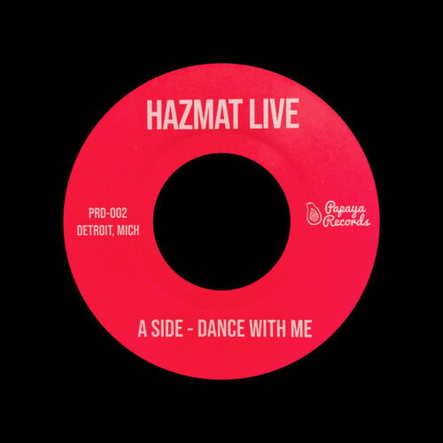"Hazmat Live Dance With Me / 1983 Payapa Records 7"" Vinyl"
