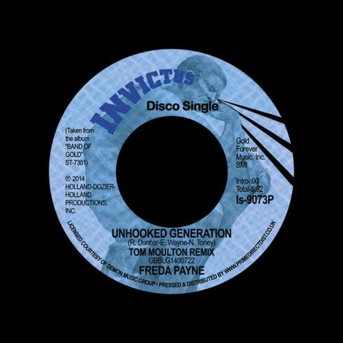 "Freda Payne Unhooked Generation (Tom Moulton remix) Invictus 7"", Reissue Vinyl"