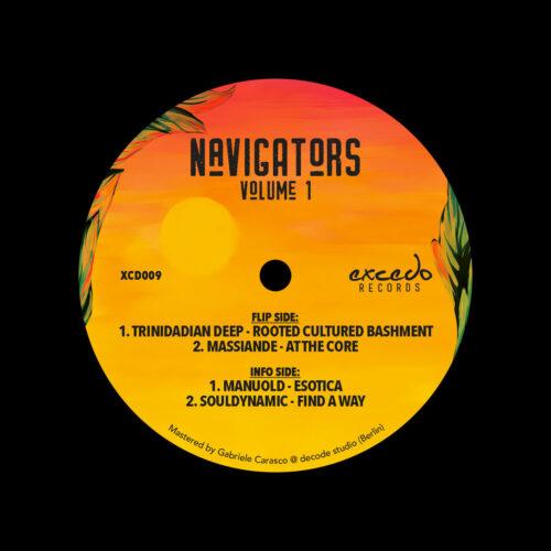 "Various Navigators, Vol. 1 Excedo Records 12"" Vinyl"