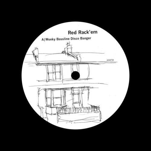 "Red Rack'em Wonky Bassline Disco Banger Bergerac 12"" Vinyl"
