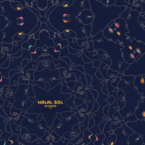 "Halal Sol Dijamin EP Darker Than Wax 12"" Vinyl"