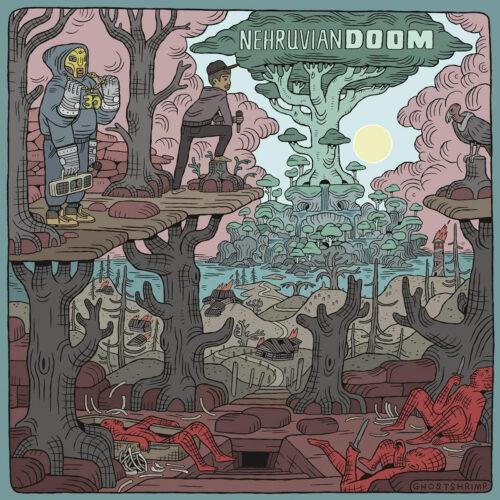 Bishop Nehru, MF Doom NehruvianDOOM (Sound Of The Son) Lex Records LP, Reissue Vinyl