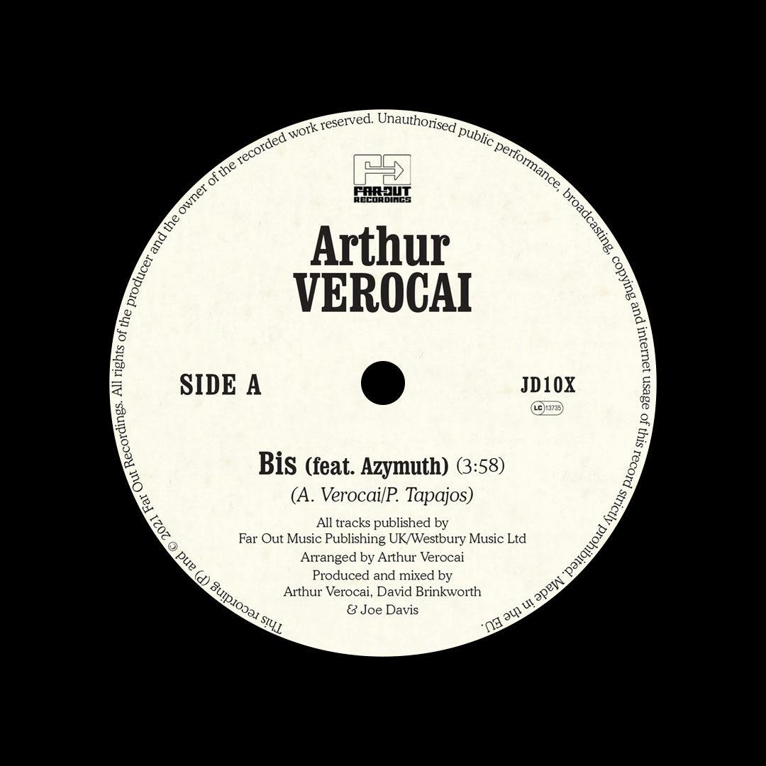 "Arthur Verocai Bis Far Out Recordings 7"", Reissue, RSD2021 Vinyl"