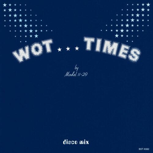 "Model 11-29 Wot Times Best Record 12"", Reissue Vinyl"