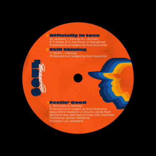 "Soul Supreme Feelin Good / Officially In Love / Still Shining Soul Supreme 7"" Vinyl"