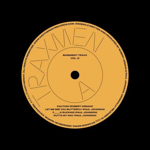 "Robert Armani, Traxmen Trax Series, Vol. 3 Chiwax 12"", Reissue Vinyl"