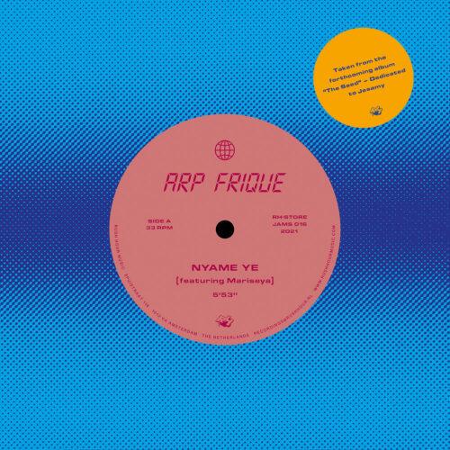 """Arp Frique Nyame Ye / Oi Quem Que Nos Rush Hour 7"""" Vinyl"""